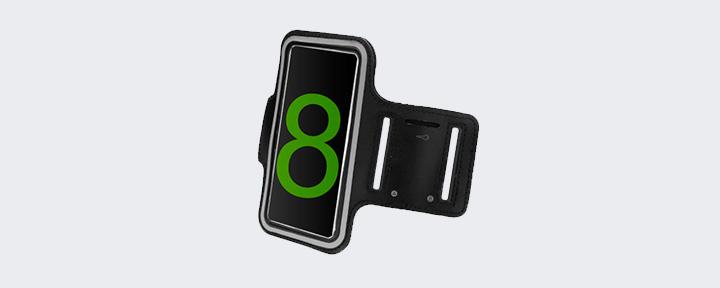 Спортивный чехол на руку для iPhone 10