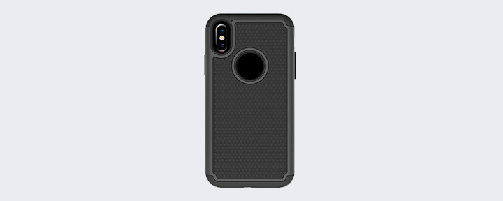 Защитный противоударный чехол для iPhone X