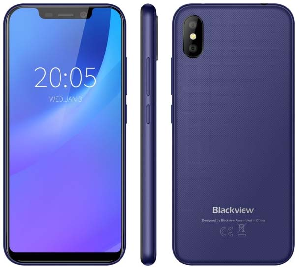 Представлен доступный смартфон Blackview A30 за $70
