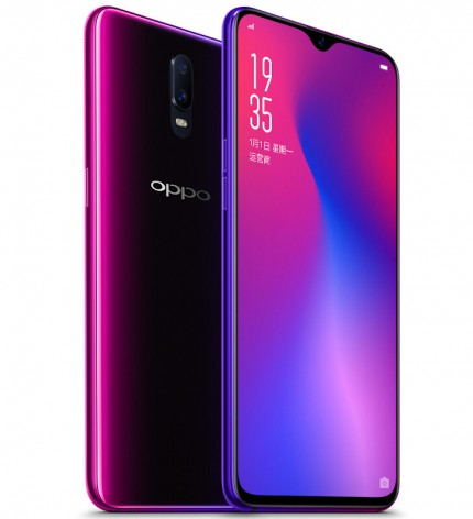 Смартфон Oppo R17 появится в продаже 30 августа по цене $509