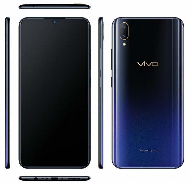 Vivo V11 с каплевидным вырезом представлен официально