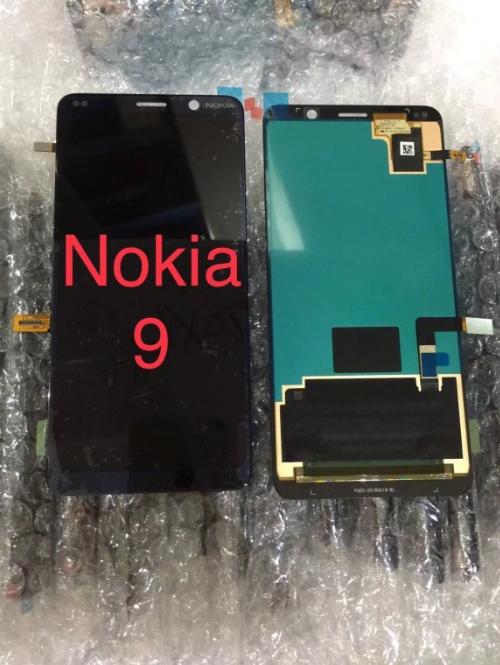 Фронтальные панели Nokia X7 и Nokia 9 показали на фото