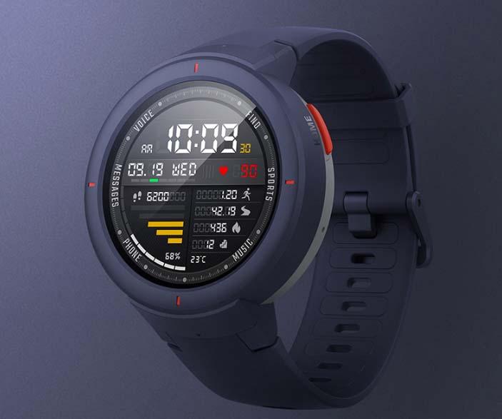 Представлены смарт-часы Huami Amazfit Verge