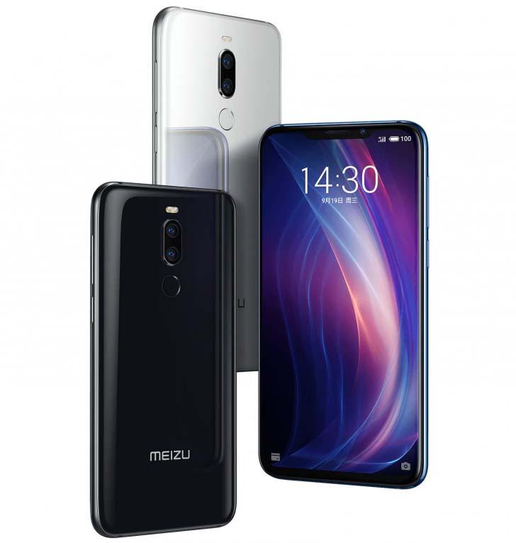 Анонс Meizu X8 - первый смартфон компании с