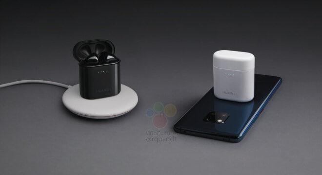 Huawei Mate 20 Pro и Freebuds 2 Pro показали на промо-фото