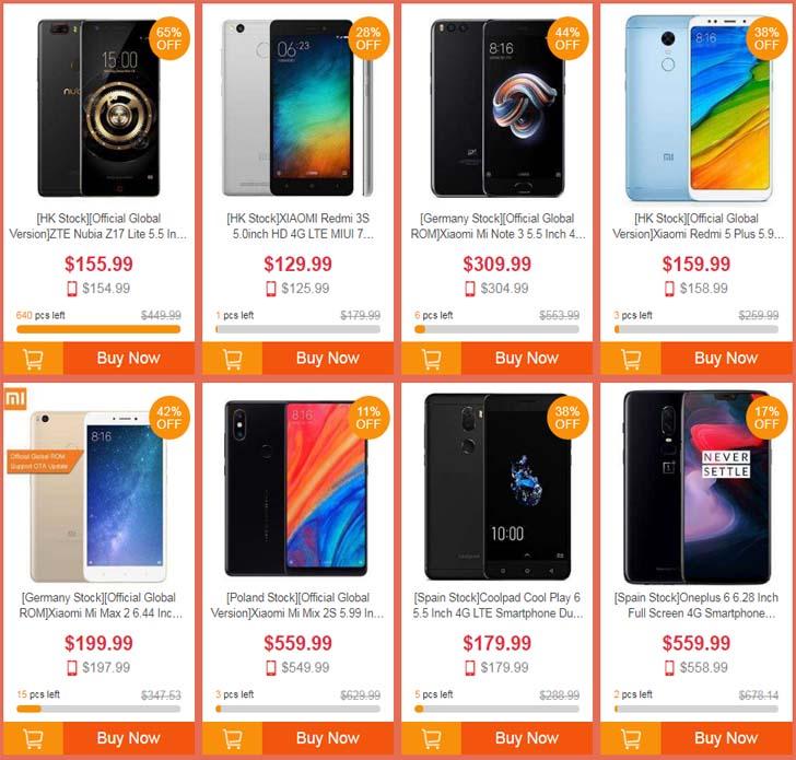 Грандиозная распродажа на онлайн-площадке Geekbuying!
