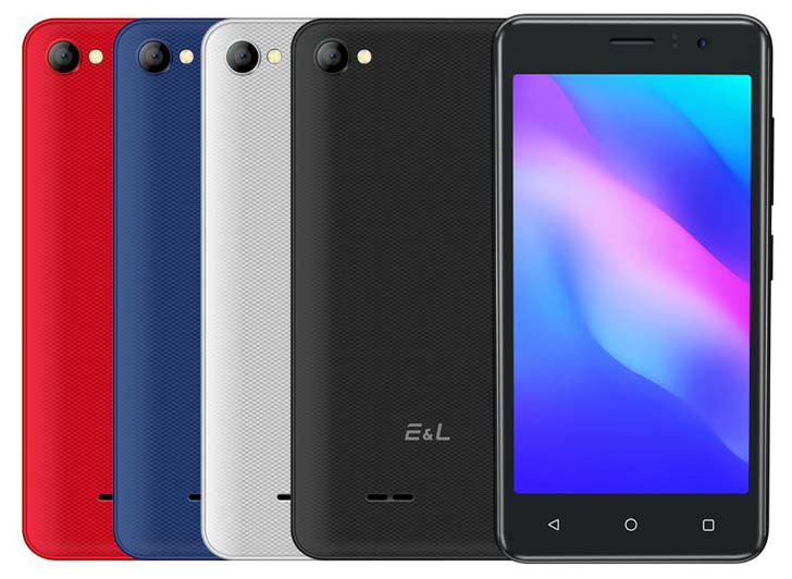 Представлены бюджетные смартфоны EL W40 и W45 за $35 и $37
