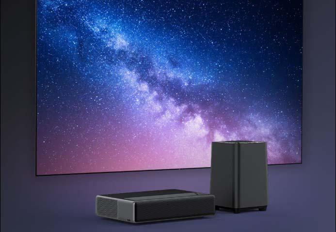 Компания Xiaomi представила лазерный проектор с сабвуфером
