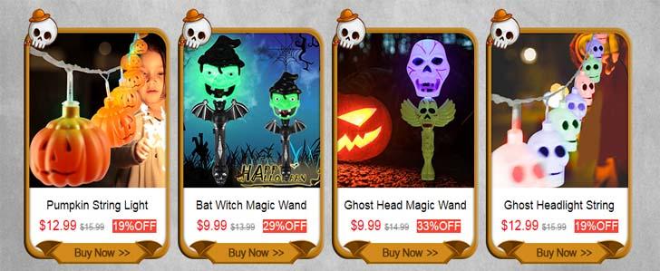 Супер-распродажа на Coolicool, посвященная празднику Хеллоуин!