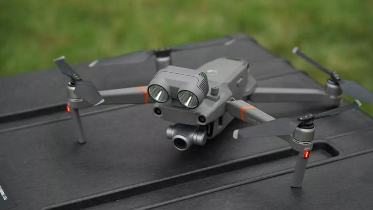 DJI представила професиональный дрон Mavic 2 Enterprise
