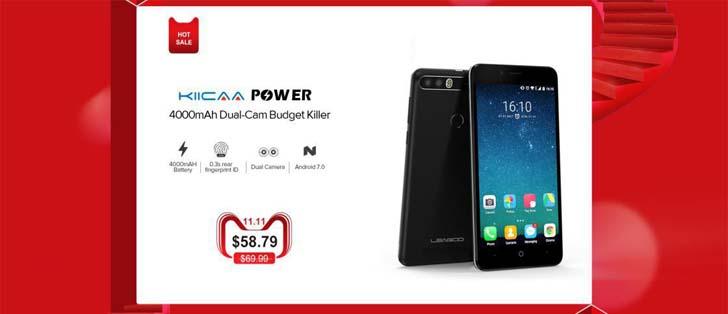Смартфоны Leagoo со скидками до 36% на AliExpress 11.11!