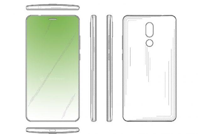 Huawei спрячет фронталку и датчики в вырезе для динамика