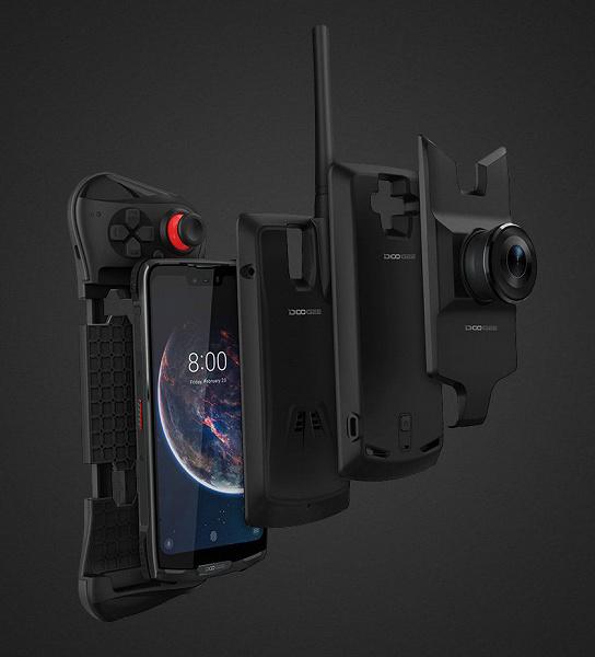 Новые подробности о модульном защищенном смартфоне Doogee S90