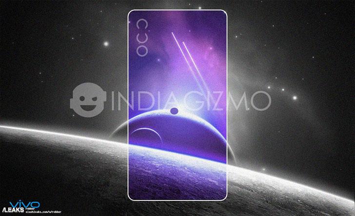 Смартфон Vivo V15 Pro позирует на официальном постере
