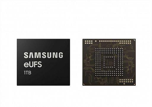 Флеш-память Samsung eUFC 1 ТБ