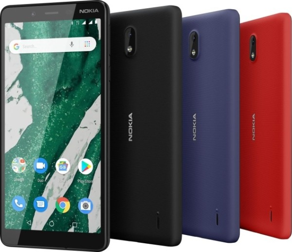 На MWC 2019 представлен доступный аппарат Nokia 1 Plus
