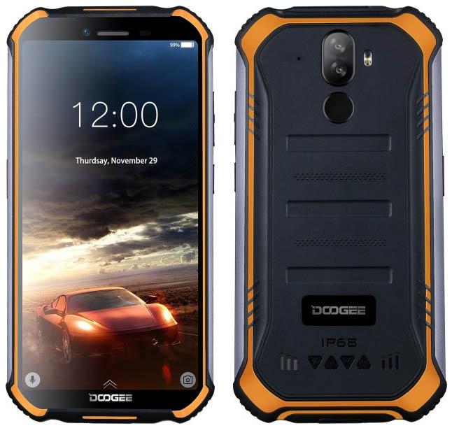 Защищенный смартфон Doogee S40 с NFC оценили в $99,99