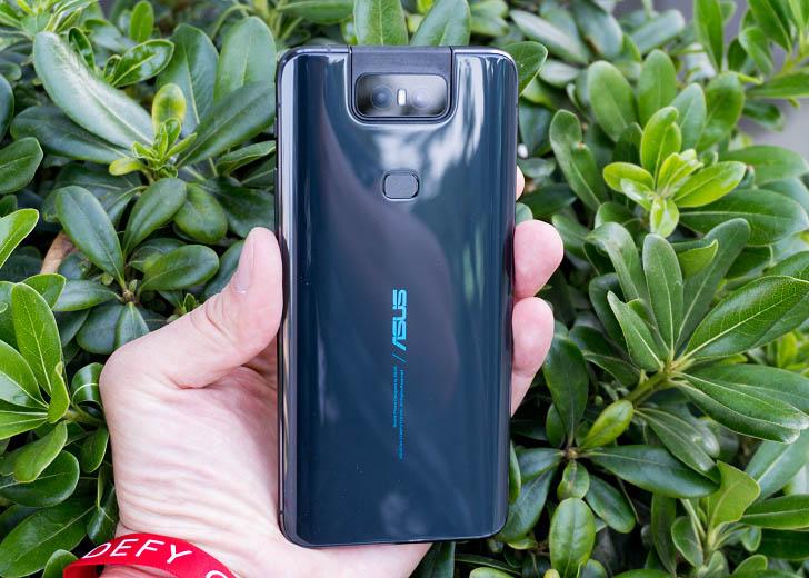 Представлен смартфон Asus ZenFone 6 с камерой-перевёртышем