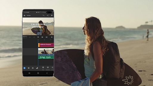 Adobe Premiere Rush оптимизировано для Samsung Galaxy