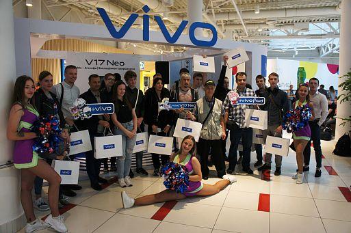Смартфон Vivo V17 Neo представлен в Москве