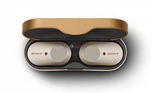 Наушники Sony WF-1000XM3 с передовой технологией шумоподавления