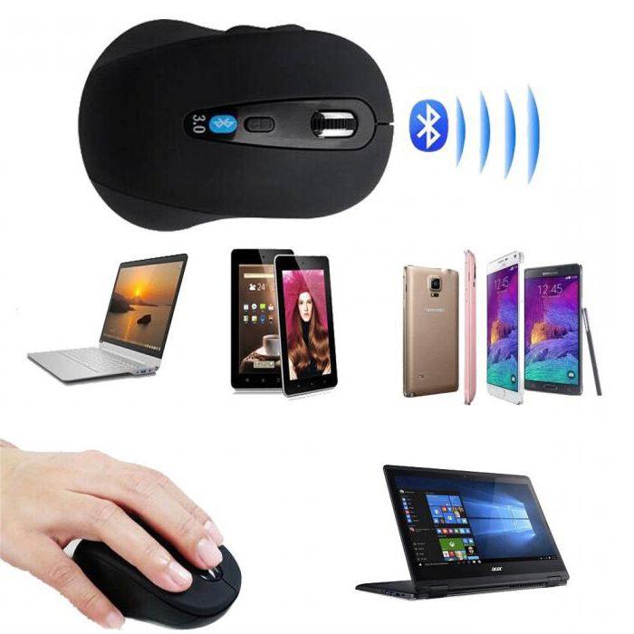 как подключить беспроводную мышку к планшету