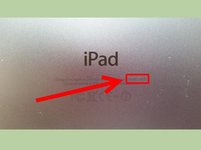 iPad какие модели