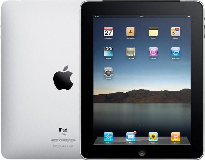 модели iPad