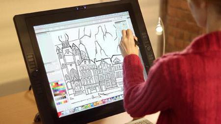 как пользоваться графическим планшетом