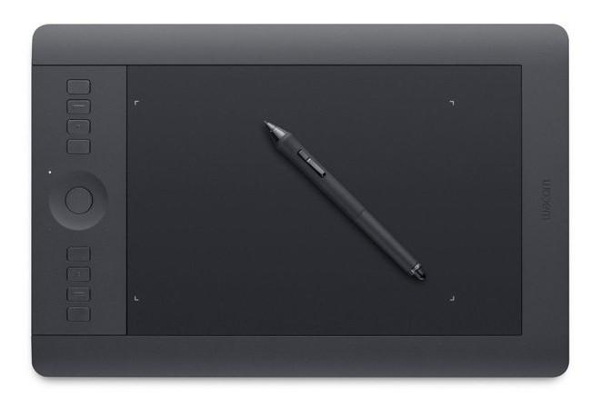 как пользоваться графическим планшетом wacom