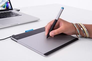 как пользоваться графическим планшетом wacom intuos