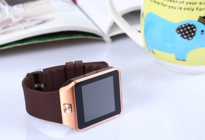часы smartwatch dz09 отзывы