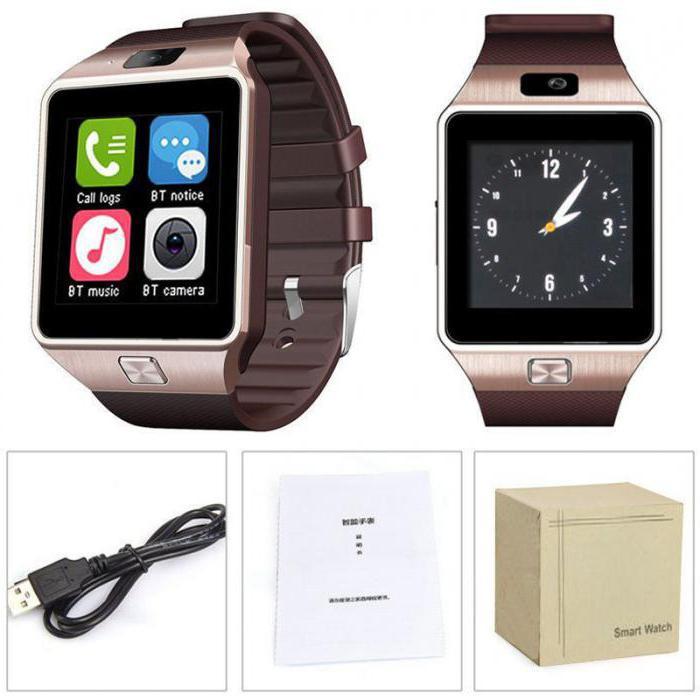 умные часы smartwatch dz09 обзор