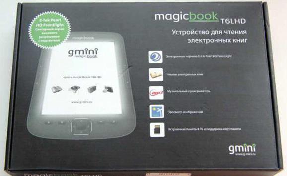 электронная книга gmini magicbook t6hd