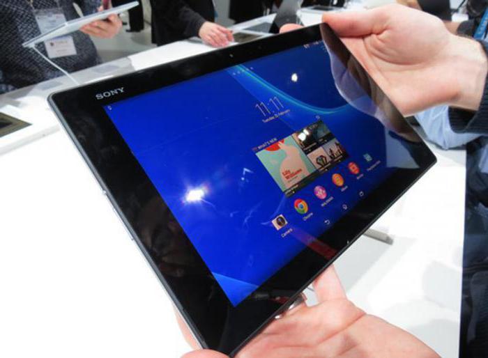 планшеты sony xperia z2 tablet sgp521