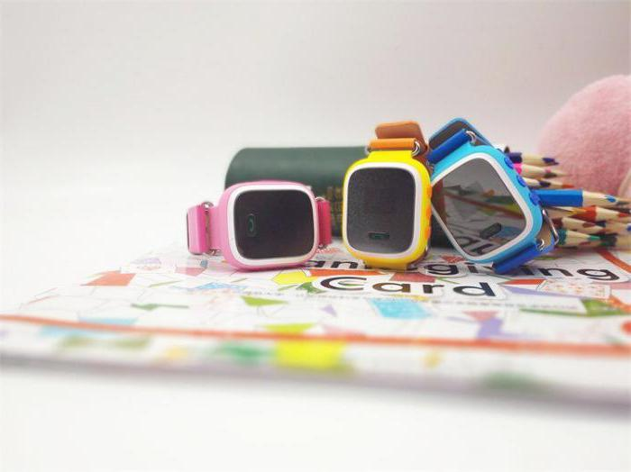 часы наручные детские smart baby watch q80