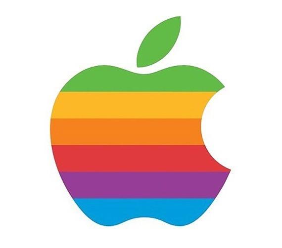логотип надкусанное яблоко