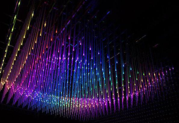 RGB подсветка потолка