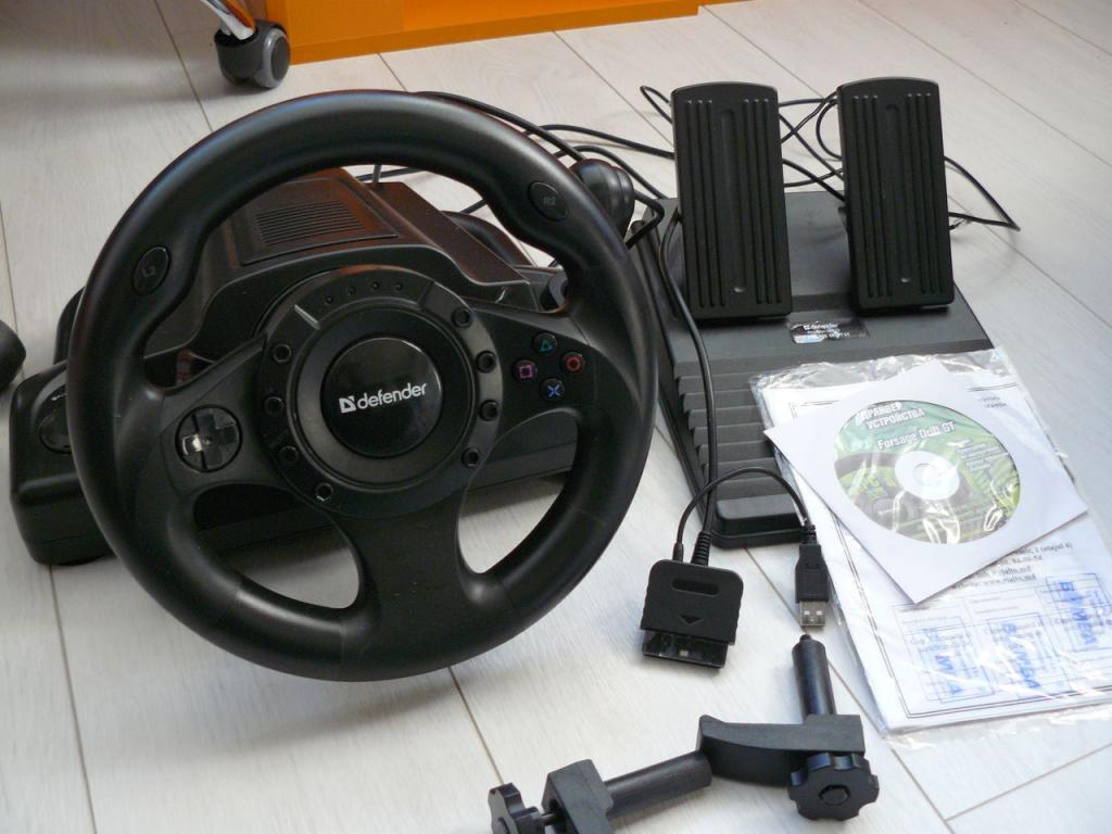 комплектация руля Defender Forsage Drift GT
