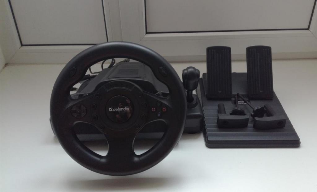 характеристики руля Defender Forsage Drift GT