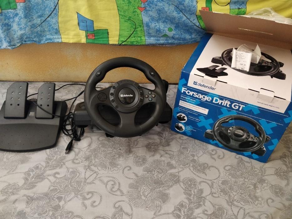 отзывы о руле Defender Forsage Drift GT