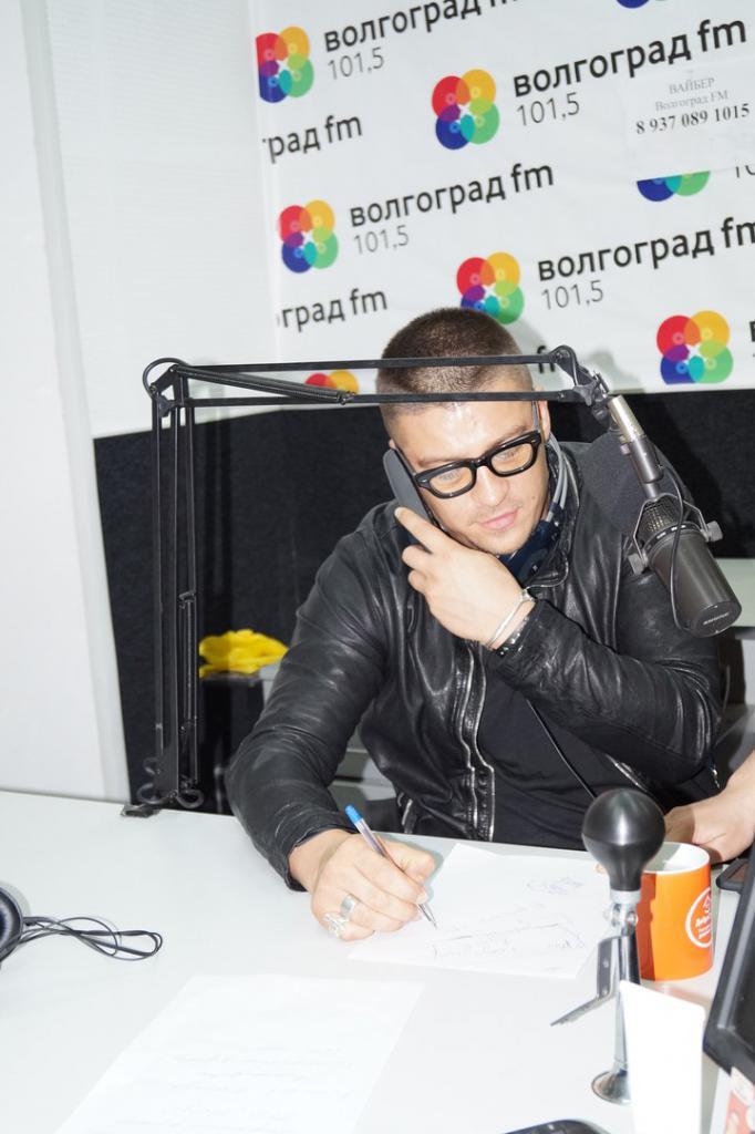 Антон Беляев на Волгоград FM