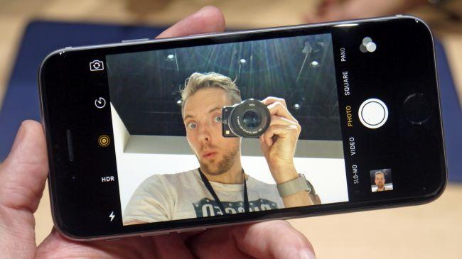 как включить фронтальную камеру на айфоне