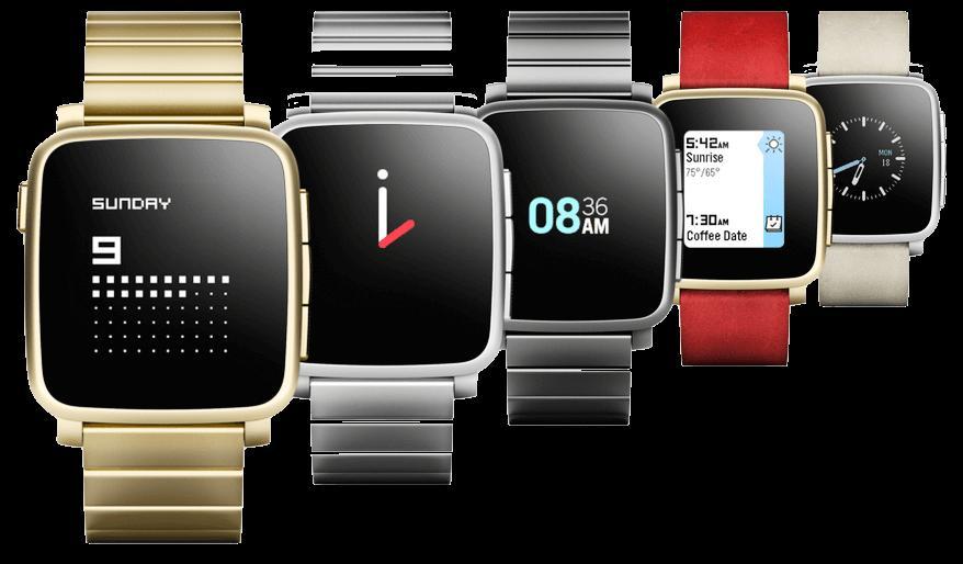 Высокотехнологичное устройство Pebble Watch