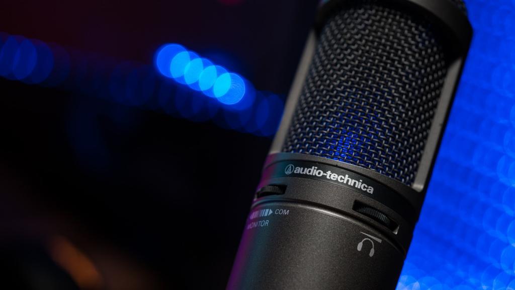Бюджетный микрофон