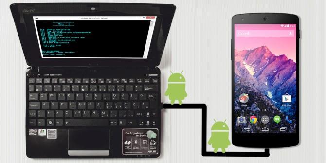 Мост Android Debug для удаления шаблонов