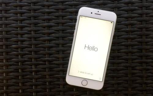 Первое включение или как активировать iPhone.