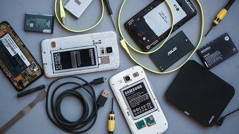 Замена аккумуляторов на Android смартфонах