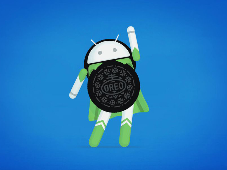 Один из логотипов Android Oreo