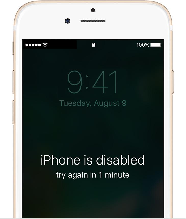как разблокировать iphone 5s